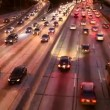 Cars on Freeway - Stock Photo