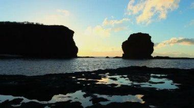 Sunrise Over Ocean in Hawaii — Stock Video
