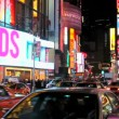 Times Square in New York City — Stock Video #15426673