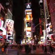 Times Square in New York City - Stock Photo
