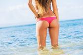 Young sexy woman in bikini — Stock Photo