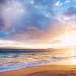 Hawaiian Sunset at the Beach — Stock Photo #24339863