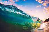 Sunset Wave — Stock Photo