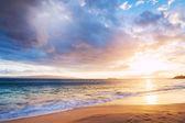 Hawaiian Sunset at the Beach — Stock Photo