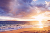 Hawaiian Sunset at the Beach — Stock Photo