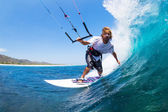 Kite Surfing — Foto de Stock