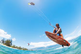 Kite Surfing — Foto Stock