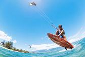 Kite surf — Foto Stock