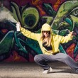 Graffiti Artist — Stock Photo