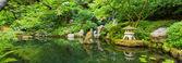 Mooie japanse tuin — Stockfoto