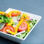 Organic Bowl of Salad — Stock Photo