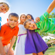Happy Group of Young Kids — Stock Photo #31189639