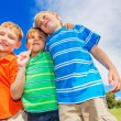 Happy Group of Young Kids — Stock Photo #31189691