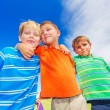 Happy Group of Young Kids — Stock Photo #31189695