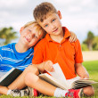 Kids Reading Books — Stock Photo #31189735