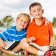 Kids Reading Books — Stock Photo #31189811