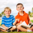 Kids Reading Books — Stock Photo #31189815