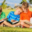 Kids Reading Books — Stock Photo #31189903