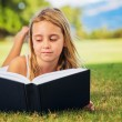 Young Girl Reading — Stock Photo #31189981