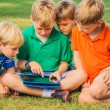 Kids with Tablet Computer — Stock Photo #31190071