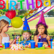 Kids Birthday Party — Stock Photo #31190423