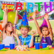 Kids Birthday Party — Stock Photo #31190515