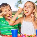 Happy Kids at Birthday Party — Stock Photo #31190789
