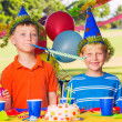 Kids Birthday Party — Stock Photo