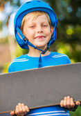 Boy with Skate Board — Stock Photo