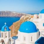 サントリーニ島ギリシャ — ストック写真