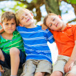 Group of Friends, Young Kids — Stock Photo