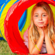 Young Girl Playing — Stock Photo #31509009