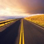 Sunset Road — Stock Photo