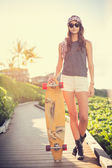 Hipster girl — Stock Photo