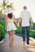 šťastný pár v lásce — Stock fotografie