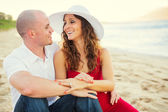 Happy couple in love — Foto Stock