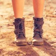 Stylish Boots — Stock Photo