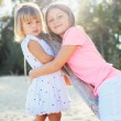 Adorable young sisters — Stock Photo #41823323