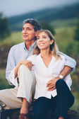 Middle aged couple — Stockfoto