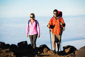 Hiking people — Stockfoto