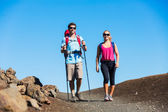 Hiking people — Stock Photo