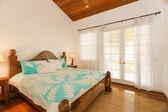 Bedroom in Luxury Home — Stock Photo