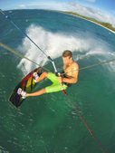 Kiteboarding  — Stock Photo