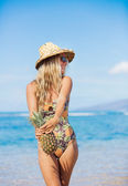 Beach fashion concept — Stock Photo