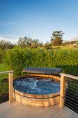 Hot tub jacuzzi — Stock Photo