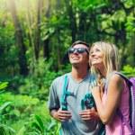 Couple hiking — Stock Photo #50499409
