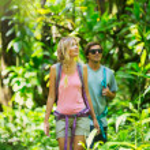 Couple hiking — Stock Photo #50499417
