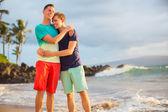 šťastný homosexuální pár — Stock fotografie