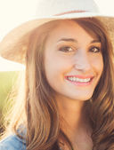 Portrait of Beautiful Girl — Stock Photo