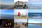 RESORT CITY OF RUSSIA.ANAPA.COLLAGE. — Stock Photo